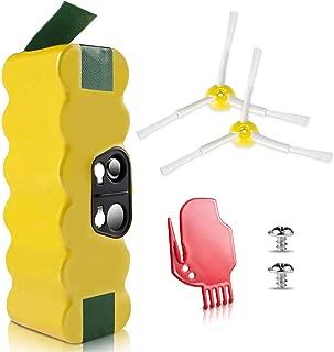 Morpilot 4050mAh Ni-MH Battery for iRobot Roomba R3 500,600,700&800 900 Series500 510 530 531 532 535 536 540 550 552 560 562 570 580 595 600 620 630 650 660 700 760 770 780 790 800 870 880