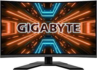 "Gigabyte G32QC 31.5"" QHD 1ms 165Hz HDR Curved Gaming Monitor"
