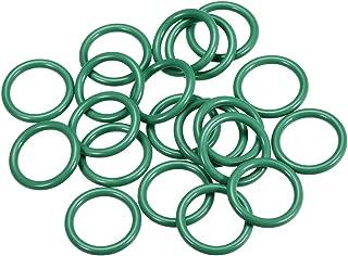 10 ST Fluorkautschuk O-Ringe 21.2-39.2mm Innendurchm 2,4mm breit Dichtung grün