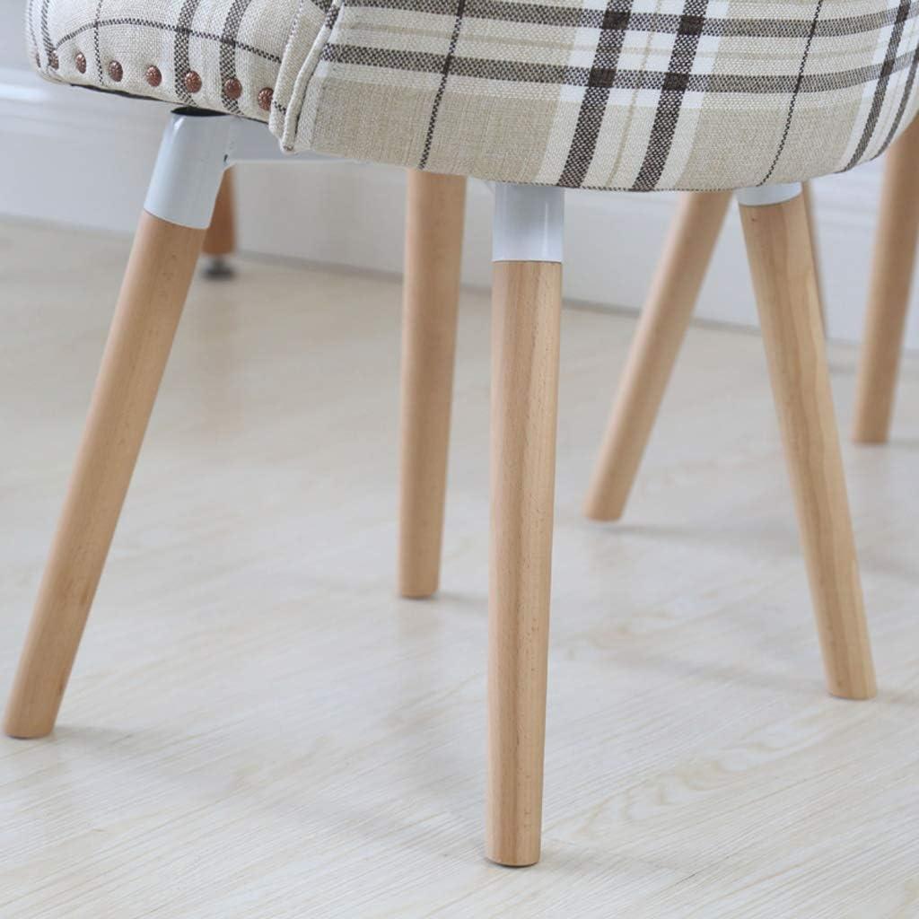 WDX- Chaise de Salle, Chaise de Bureau Simple, créative Dossier, Chaise Loisirs, Maison Adulte Chaise de Salle Confortable (Color : C) C