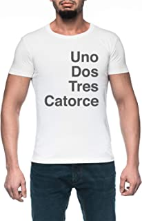 Vertigo Hombre Blanco Camiseta Manga Corta Men's White T-Shirt