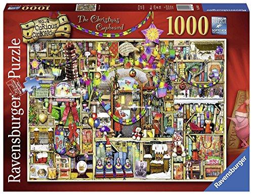 Ravensburger - Puzzle Colin Thompson Navidad, 1000 piezas, Fantasy (19468)