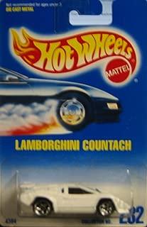 Hot Wheels Mattel Lamborghini Countach 232 Blue Card 1991