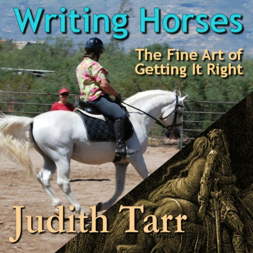 Writing Horses audiobook cover art