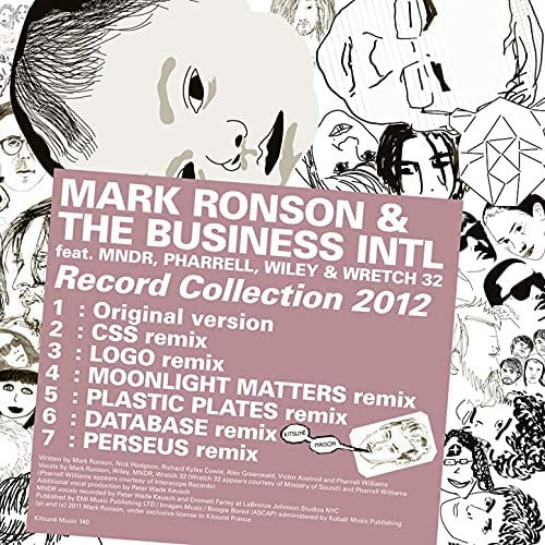 Mark Ronson & The Business Intl feat. MNDR, Pharrell Williams, Wiley & Wretch 32