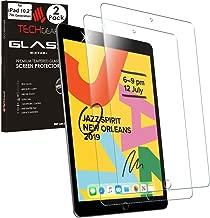 TECHGEAR [2 Stück Panzerglas Kompatible mit iPad 10.2 2019 - Displayschutzfolie aus gehärtetem Glas [9H Härte] [Crystal Clarity] kompatible mit iPad 7. Generation 10,2 2019 Neuste Modell