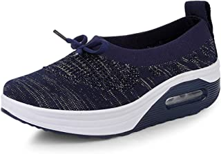 Unparalleled beauty Women's Running Shoes Knit Breathable Lightweight Athletic Walking Sneaker