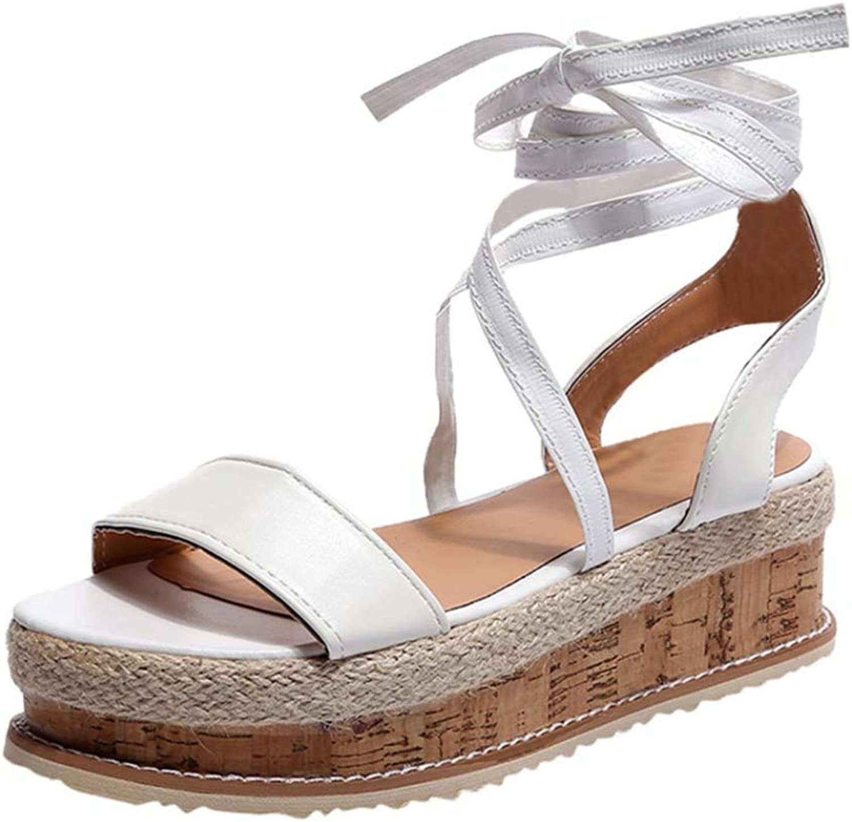 Ladies shoes Women Sandals Summer Open Toe Fish Head Fashion Platform Wedge Sandals Female shoes Women