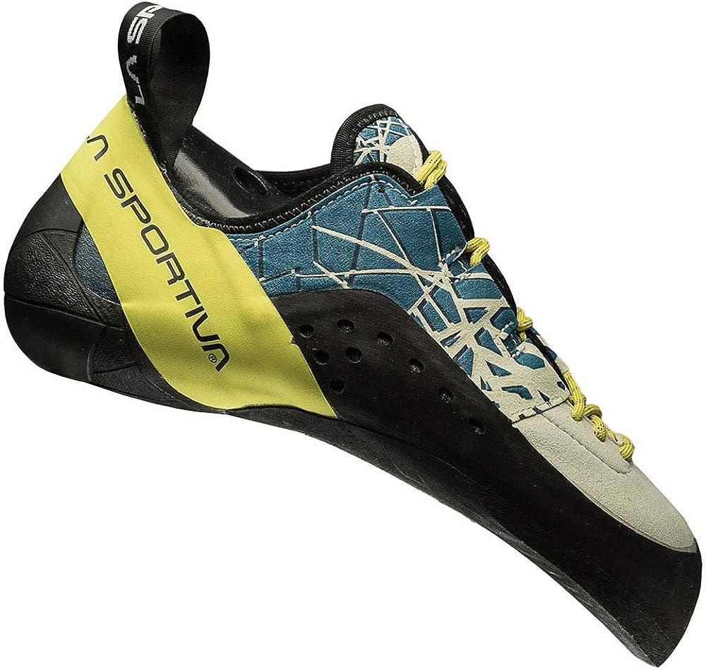 La Sportiva Kataki Ocean/Sulphur, Zapatillas de Escalada Unisex niños