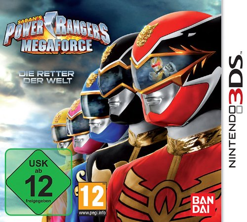 Namco Bandai Games Power Rangers Megaforce (3DS) - Juego (Nintendo 3DS, Acción, E12 + (Everyone 12 +))