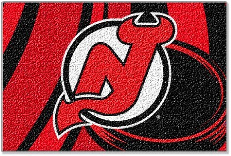 Northwest New Jersey Devils 39  x 59  Acrylic Tufted Rug
