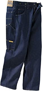 Prison Blues Men's Work Jeans (7 Pocket) with Suspender Buttons