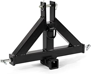 """Titan Heavy Duty Category 1 3-Point 2"""" Receiver Hitch 