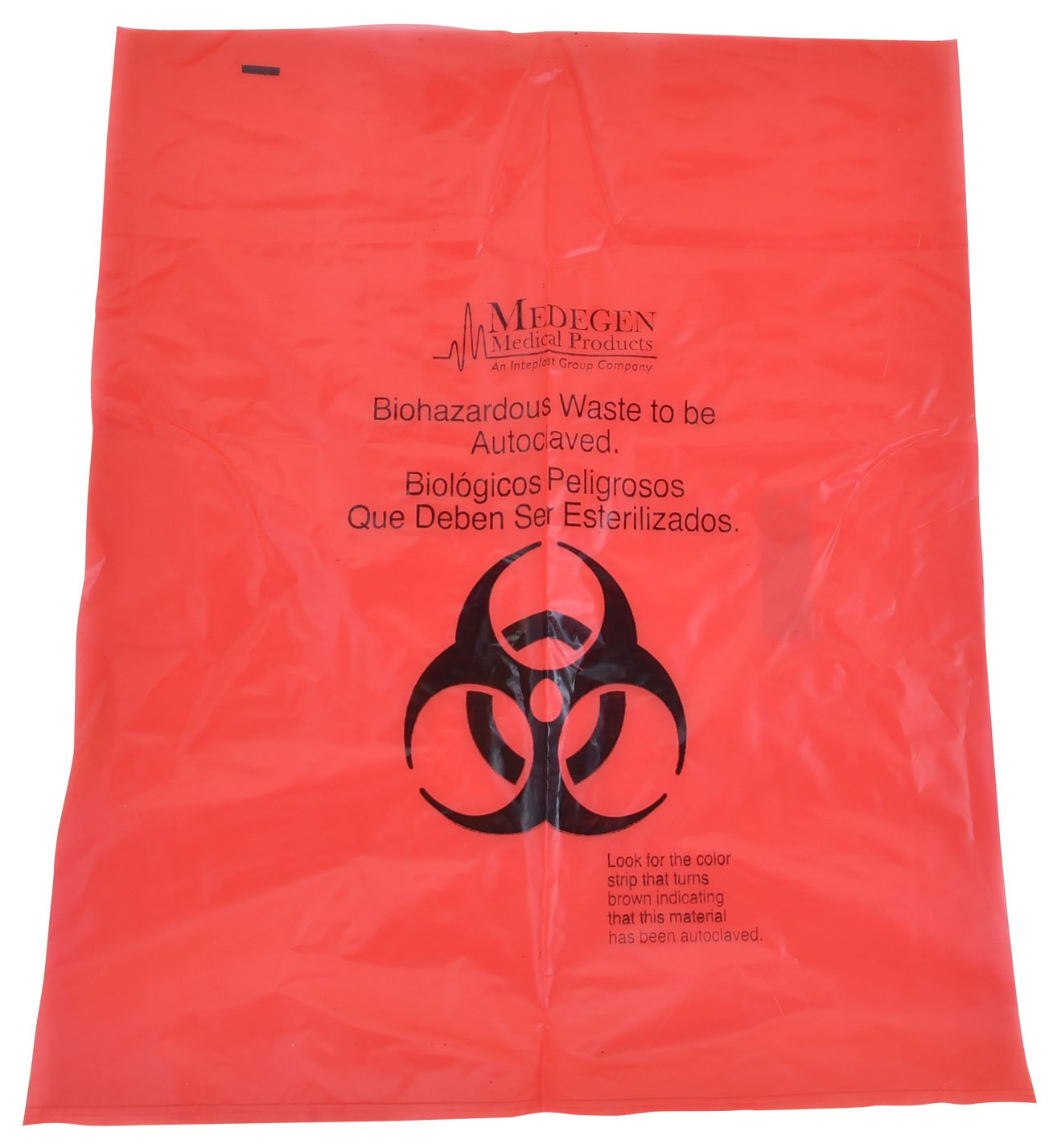 Autoclave Minneapolis Mall Bag 25x35 Inches Red Polypropy 5 ☆ popular Indicator with Heat