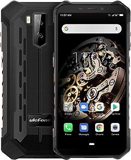 頑丈な携帯電話、Armor X5 IP68防水スマートフォン、Android 9.0 4GデュアルSIMカード5.5インチ8コア3GB + 32GB、5000mAhバッテリー (黒)