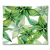 PPOU 3D Stampa foglia di Palma arazzo appeso a parete Arte Della parete decorazione Della casa sfondo panno appeso panno arazzo coperta A4 150x200cm