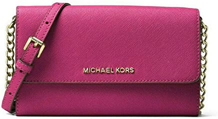 2c36a156fad2 MICHAEL Michael Kors Jet Set Travel Saffiano Leather Smartphone Crossbody