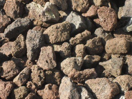 Der Naturstein Garten -  25 kg Der Grill Lava