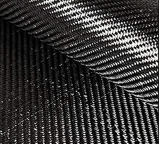 REAL 2x2 Twill 3K 6.2 oz Carbon Fiber 36 inches x 6 inches Premium Cut