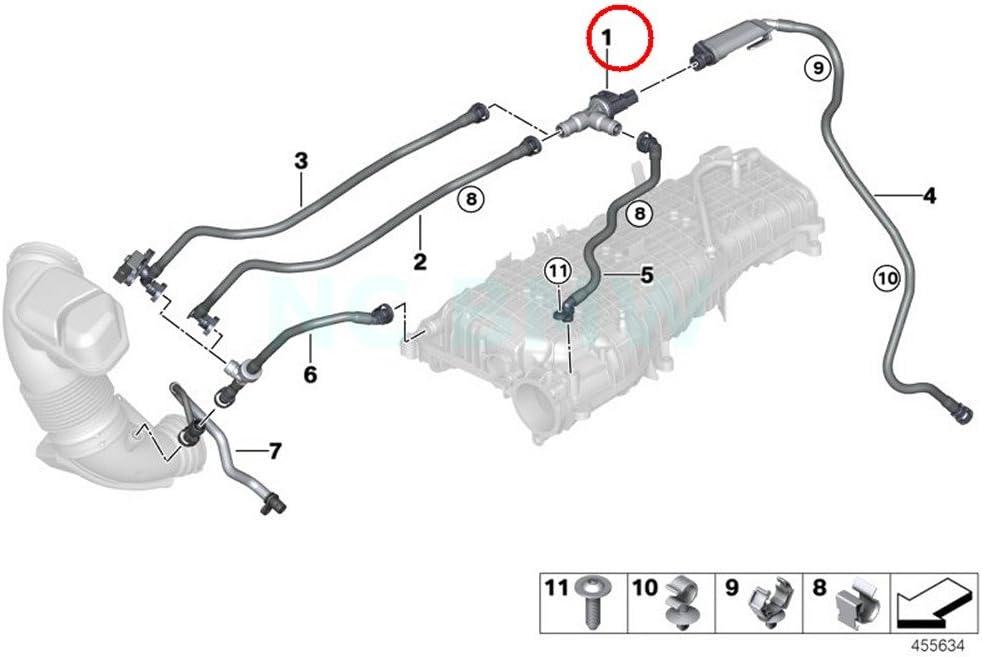 2000-2003 BMW 540i TPMS Valve Kit Dorman 63529VC 2001 2002 Details about  /For 1997-1998