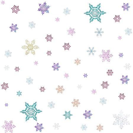 Christmas Window Stickers Vinyl Decals Removable Decals Peeping Peel/&Stick Draft