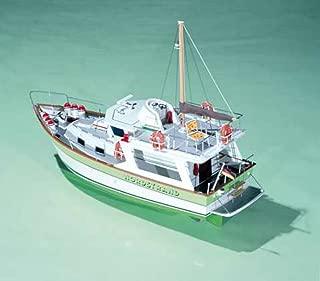Nordstrand Trawler Yacht - Model Ship Kit by Krick