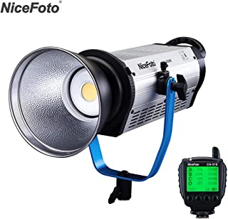 Andoer HA-3300B 330W Professional 5500K Daylight COB LED Video Light Film Light Photographic Equipment Studio Lighting CRI...
