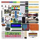 Freenove Raspberry Pi のための究極のスターターキット 4 B 3 B +、434ページ詳細ガイド、Python C Java、223アイテム、57プロジェクト、エレクトロニクスとプログラミングを学ぶ、はんだレスブレッドボード