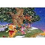 YeeATZ - Puzzles de 1000 piezas de Winnie the Pooh A197 Interactive 1000 piezas rompecabezas con experiencia de juego – Rompecabezas premium de 75 x 50 cm