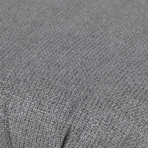 Semiter Tabla de Planchar, Mini Tabla de Planchar Algodón Puro Funda de Tela extraíble y Lavable para Cuello para Apertura de piernas para Escote para puños(Anti-scalding Silver Cloth)