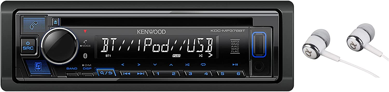 Kenwood Single 70% OFF Outlet Recommendation DIN Bluetooth CD AM St Auxiliary USB FM Car Input