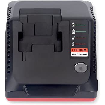 Lasica Replacement for Porter Cable 18V Battery Charger PCXMVC PCMVC Compatible with Porter-Cable 18-Volt Cordless Tools NiCad NiMh & Lithium-Ion Battery PC18B PC18BL PC18BLX PC18BLEX