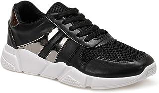 CS20005 Siyah Kadın Spor Ayakkabı