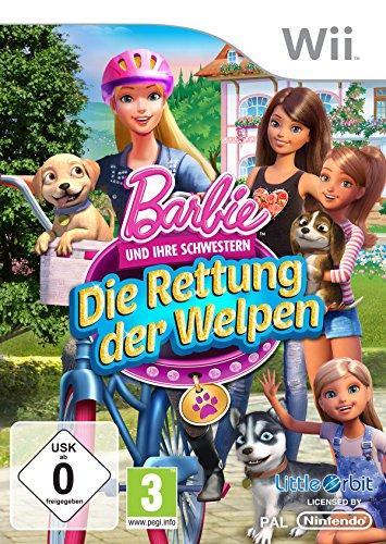 Barbie und ihre Schwestern: Die Rettung der Welpen - [Nintendo Wii]
