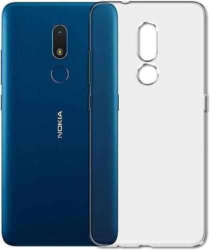 SKMO Silicon Soft Transparent Shockproof Back Cover Case for Nokia C3 2020