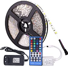 GHC LED Gloeilampen RGB LED Strip Waterdichte DC 12V 5M 5050 SMD RGBW RGBWW LED-strips Licht flexibel met 3A Power en Afst...
