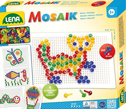 Lena 35601 - Mosaik Set transparent 10 mm