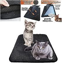 LLWX Cat Litter Mat Anti-Tracking Litter Mat 27