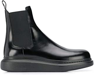 Luxury Fashion | Alexander Mcqueen Men 586198WHX521000 Black Leather Ankle Boots | Autumn-winter 20
