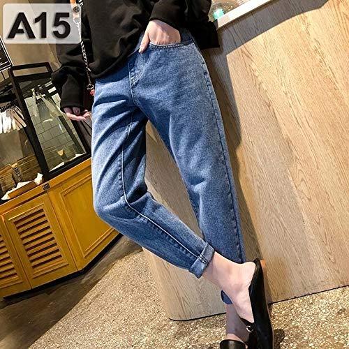 YINGDATETUI Bequeme Hosen Mutterschaft Hosen for Schwangere Kleidung Schwangerschaft Jeans-Hosen for Plus Size justierbare Taille Denim-Bauch-Jean-Hose Herbst wachsenden Bauch
