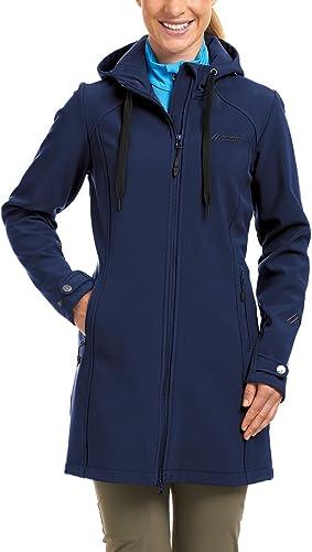 Maier Sports Mim Manteau Softshell pour Femme M,L Medieval bleu