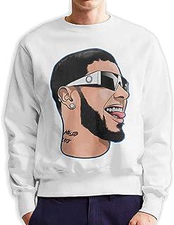 Men's Anuel-AA Fashionable Casual Style Crew Neck Cotton Sweatshirt Hoodie