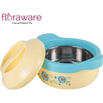 Floraware Steel Casseroles, Junior Gift Set, 1 Piece, 1500ML, Cream