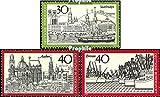 Prophila Collection RFA (RFA.Alemania) 781,786,787-789 (Completa.edición.) 1973 RFA en el Naciones Unidas, radiodifusión, Turismo (Sellos para los coleccionistas) Música / Bailar