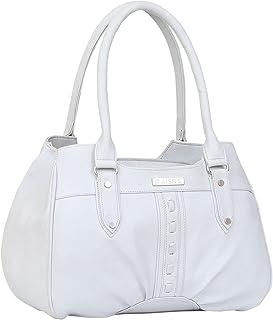 Aisna Women's Star Handbag(ASN-212)(White)