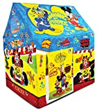 Make in India: This tent is manufactured in India. Your child will have hours of fun with this colorful play tent. Set it up in the backyard, and kids got a secret hiding place. It's great for encouraging play, adventure and fun.It provides comfortab...