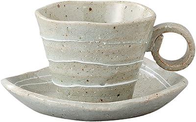 万葉庵 一珍うず コーヒー碗皿 29-54-41