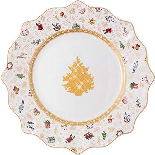 Villeroy & Boch Toys Delight Anniversary Edition Breakfast Plate, Premium Porcelain, White, 24 cm 14-8585-2644