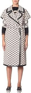 ALBERTA FERRETTI Luxury Fashion Womens 063166451009 White Trench Coat   Fall Winter 19
