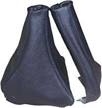 The Tuning-Shop Ltd For Mitsubishi Gto 3000Gt 1989-2000 Gear & Handbrake Gaiter Black Leather